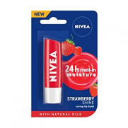 Nivea Lipcare Strawberry 4.8G